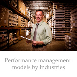Performance management methods by industries