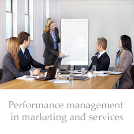 Performance management in marketing and services