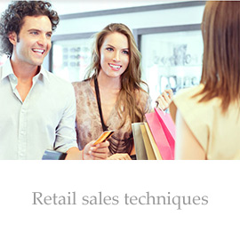 Retail sales techniques